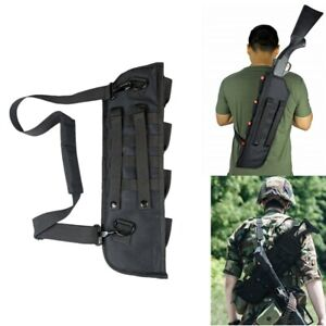 US-Tactical-Molle-Shotgun-Rifle-Scabbard-Bag-Holster-Shoulder-Sling-Case-Padded