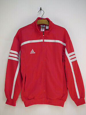 Adidas Trainingsjacke Herren Gr. 186 Rot Weiss Blau