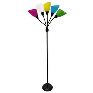 indoor floor lamps image is loading styleselections67in3wayblackmulti style selections 67in 3way black multihead indoor floor lamp