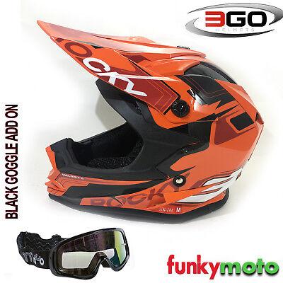 XL MOTORBIKE WULFSPORT FLITE EXTRA CUB KIDS MX HELMET Motocross Quad Enduro PIT Sport ECE Helmet , GREEN