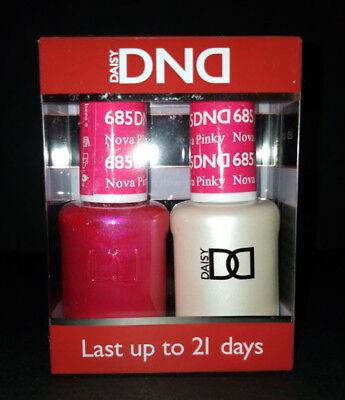 Dnd Daisy Soak Off Gel Polish Nova Pinky 685 Led Uv 15ml Gel Duo New Ebay