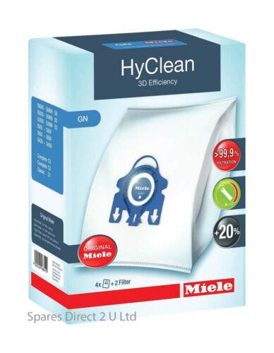 Genuine MIELE GN S5211 S5261 TT5000 BAGS /& Filters Hyclean 3D Efficiency