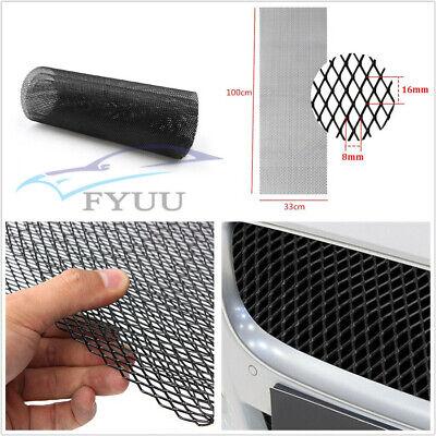 """40/""""x13/"""" Aluminium Rhombus Car Grille Mesh Vent Car Tuning Grill 0.31/""""×0.63/"""" Mesh"""