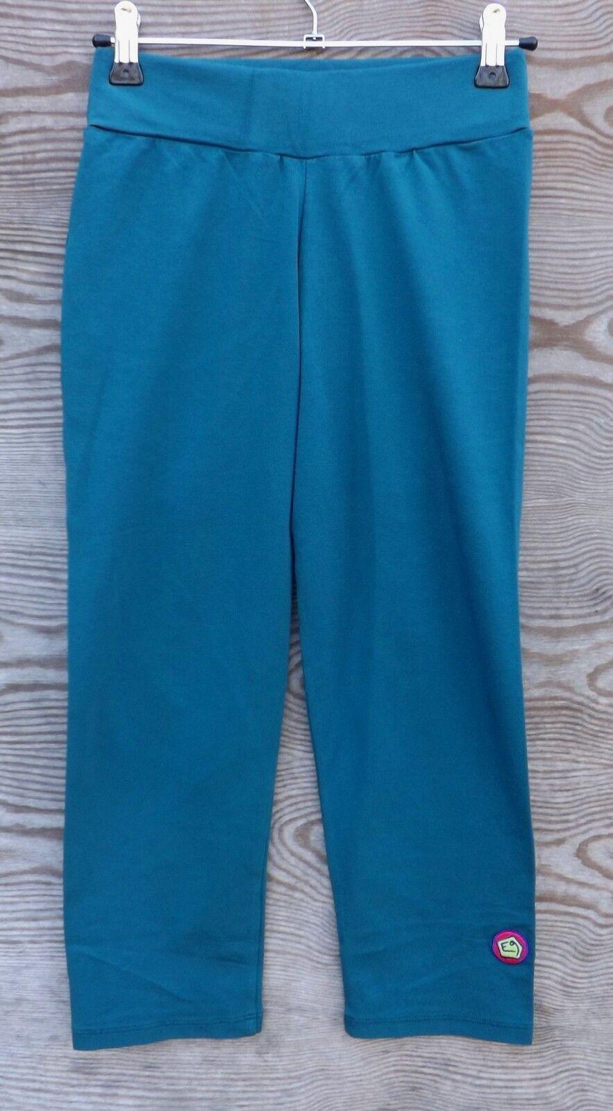 E9 Cucu Damens Pant, petrol, elastische Damenhose, Leggins