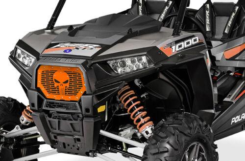Steel Grille SKULL for Polaris RZR 1000 XP 2014-2018 RZR 900 S Spectra Orange