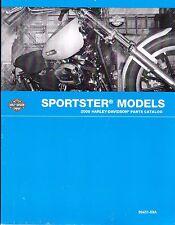 2009 Harley Sportster XL883 XL1200 883 1200 Parts Manual Catalog 99451-09A