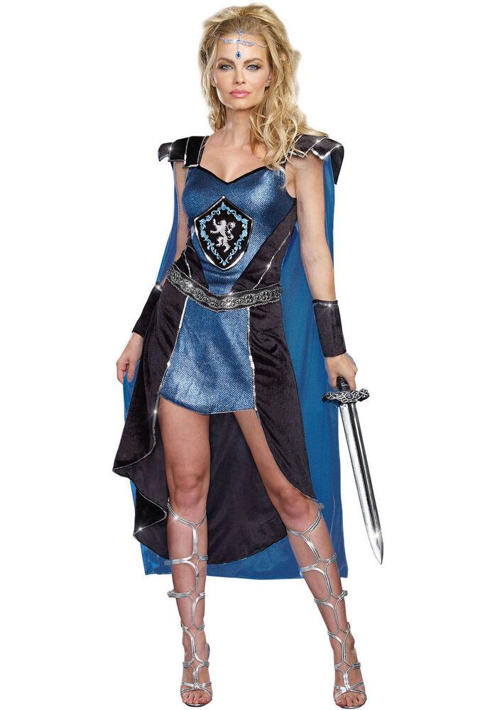 Ensoleillé Le Roi Slayer Gladiateur Adulte Costume Halloween Femme Taille L Pour Convenir à La Commodité Des Gens