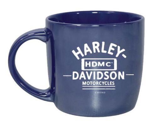 Harley-Davidson Blue City Lustre Kaffeetasse Keramikbecher Tasse 415 ml