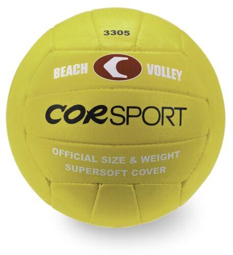 PALLONE PALLA BEACH VOLLEY 5 SUPERSOFT CORSPORT GOMMA//NYLON GRIP ECCEZIONALE