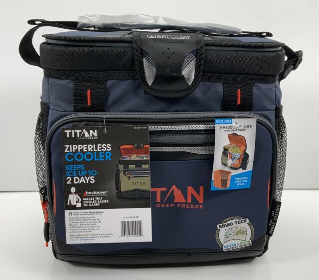 Blue 16 Can for sale online Arctic Zone Titan Deep Freeze Zipperless Cooler