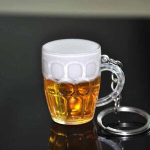 Unique-DYhign-RYhin-Beer-Cup-Key-Chain-Car-Keyrings-Christmas-Xmas-Gift-YhssSFH