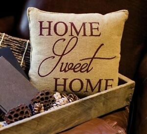 HOME-SWEET-HOME-Burlap-Stenciled-accent-Pillow-Primitive-natural-Tan-12x12-034