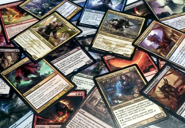 mtg Magic the Gathering 75 BULK RARE LOT game card collection edh commander