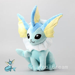 14-034-Vaporeon-Pokemon-Plush-Soft-Toy-Character-Stuffed-Animal-Doll-Teddy-Sitting-T