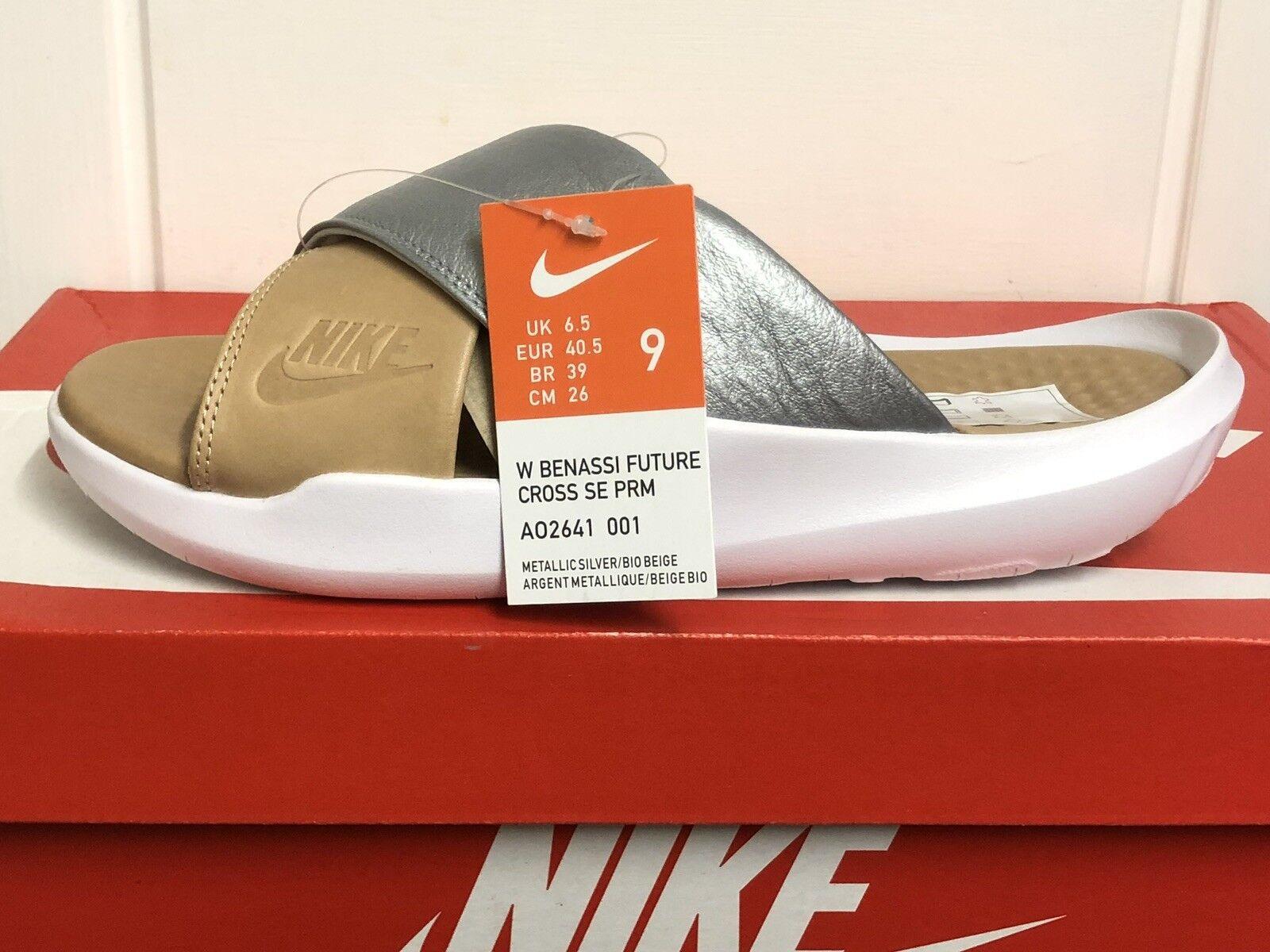 Nike Benassi futuro CROCE se PRM diapositive Tg EUR 40,5 US 9