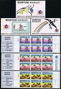 Korea-Sued-1994-Philakorea-II-Gemaelde-1794-96-D-Markenhefte-Booklets-MNH