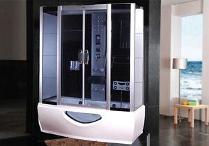 Cabina doccia idromassaggio vasca sauna arredo bagno turco box radio pc ita ebay - Cabina doccia con sauna e bagno turco ...