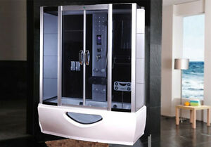 Cabina doccia idromassaggio vasca sauna arredo bagno turco box radio pc ita ebay - Box doccia su vasca da bagno ...