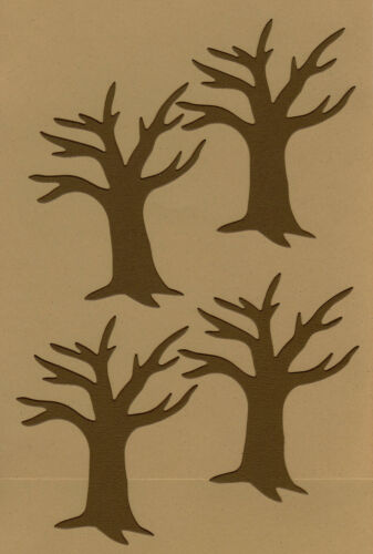 AccuCut Bare Trees Die Cuts