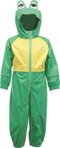 Regatta Puddle completamente impermeabile All in One Charco Rain Suit Kids Bambino-rkw148
