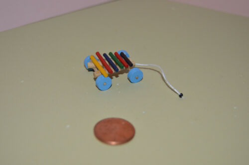 Miniature Xylophone in 1:12 doll scale