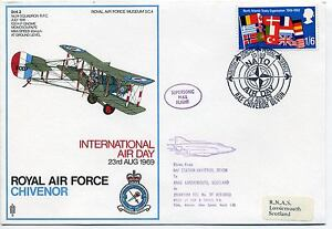 1969 NATO Air Day special handstamp on cover - Lewes, United Kingdom - 1969 NATO Air Day special handstamp on cover - Lewes, United Kingdom