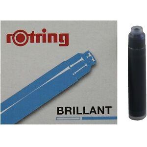 Rotring Kalligraphie ArtPen Tintenpatrone, königsblau, 6 Füller Partonen