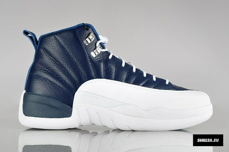 2012 Nike Air Jordan 12 XII 130690-410 Retro Obsidian Size 11.5. 130690-410 XII 1 2 3 4 5 6 b6f600