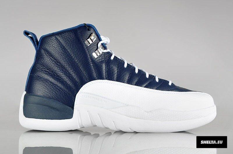 2012 Nike Air Jordan 12 XII Retro Obsidian Size 11.5. 130690-410 1 2 3 4 5 6