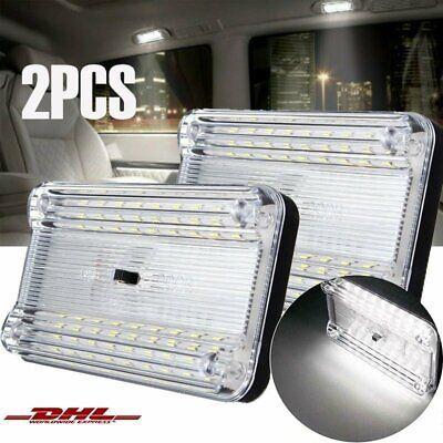 Dachlampe 18 LED Dachleuchte Innenleuchte Dach Lampe Leuchte Kfz 12V weiß