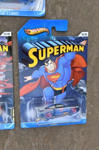 Hot Wheels 2013 Superman series USA Kroger Exclusive Multi list Buick Camaro