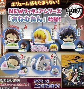 Demon Slayer Kimetsu No Yaiba ONEMUTAN Vol.3 Sleeping Capsule Figure 5set japan