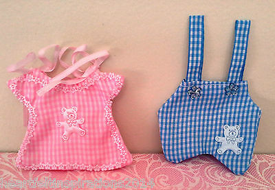 Baby Shower/Christening/ Birthday Party Pink Blue Favour Bomboniere Bags x 50