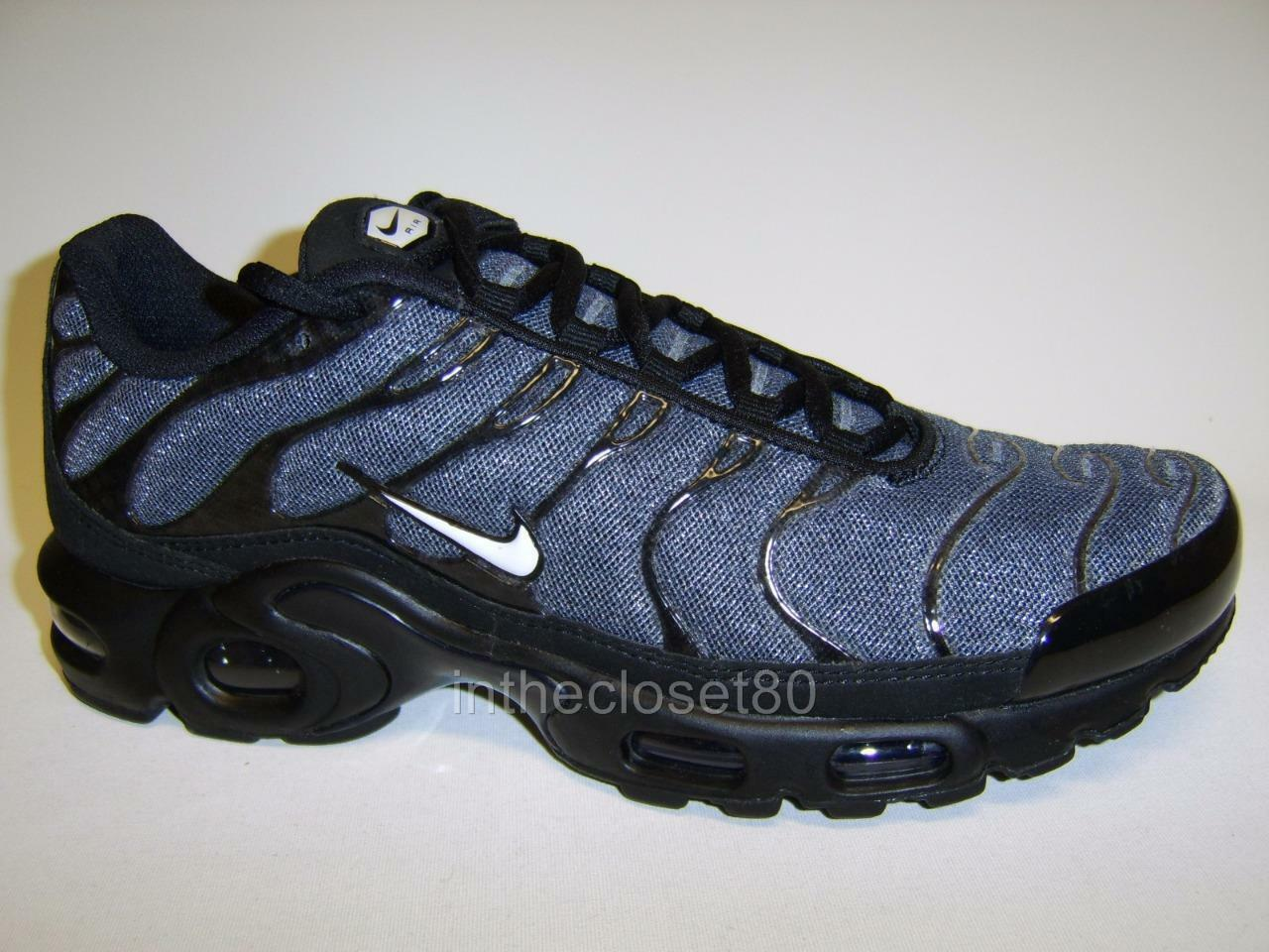 Nike Air Max Txt Plus Tn Tuned 1 Black White Black Mens Trainers 647315 019