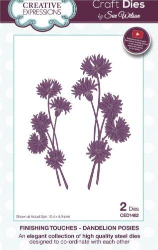 Creative Expressions touche finale-Dandelion Fleurs CED1482