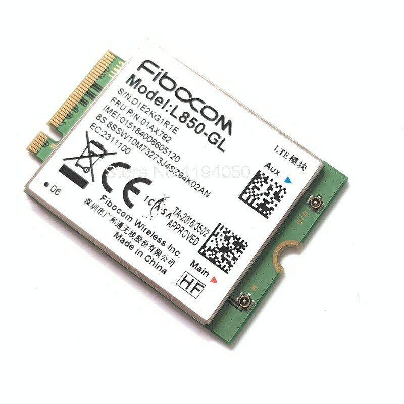 4G LTE Wireless Fibocom L850-GL For Lenovo Thinkpad L490 L590 T495s P53 01AX792