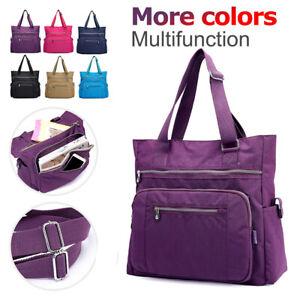 Waterproof-Nylon-Handbag-Messenger-Crossbody-Bag-Women-Diaper-Bag-Shoulder-Bags