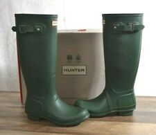 Hunter Original Tall Women/'s Rubber Rain Boots Green