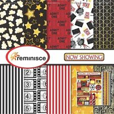 Multi Color Palette Reminisce Rockstar Scrapbook Collection Kit Paper Crafts