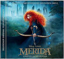 Merida-Legende-der-Highlands-von-Ost-CD-Zustand-gut