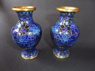 2 Jingfa Chinese Vasen Cloisonné Vase