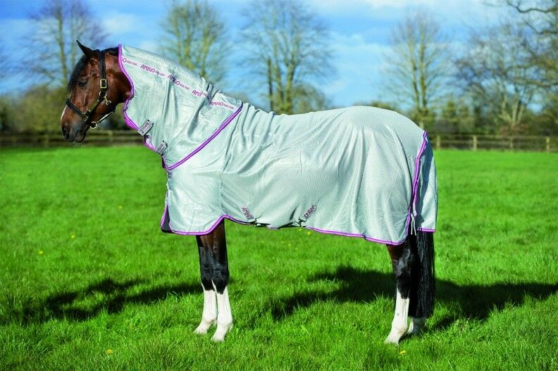 Horseware Amigo BUG RUG UV Sun Reflecting Fly Midge Insect Predection ALL SIZES