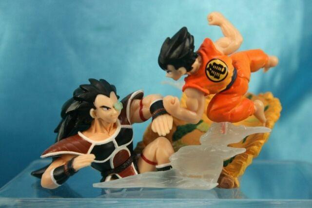 Figurine Dragon Ball Z Sangoku vs Raditz Gashapon Imagination figure 8