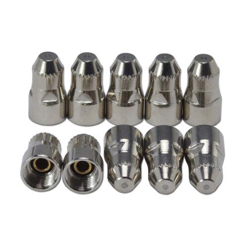P80 Torch Air Plasma Cutter Cutting Consumables Panasonic Tip 1.5 100Amp 12PCS