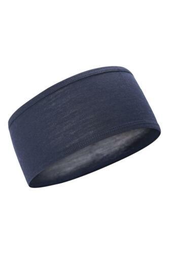 One Size Mountain Warehouse Merino Wms  Merino Womens Headband In Navy