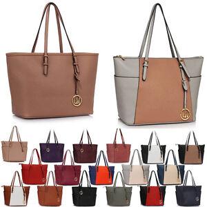 LeahWard Women s Large Size Shopper Shoulder Handbags Great Brand ... bb821b2c0e8e6