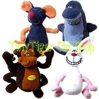 Multipet Deedle Dudes Singing Plush Dog Toy Dude Monkey Rabbit Mouse Shark