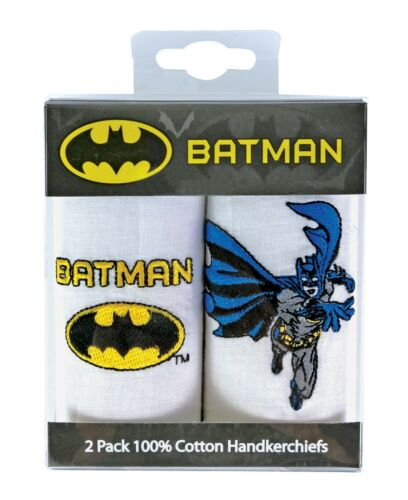 Fun Novelty Embroidered 100/% Cotton Handkerchiefs Men/'s Gift Pack of two