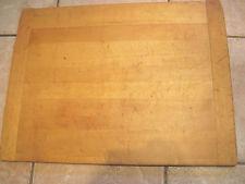 Antique noodle/ bread board. Bakers ends. as bread board end early =24x18x 3/4