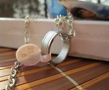 88aca65775 Kuroko No Basketball Basuke Cosplay Tatsuya Kagami Pendant Chain Ring  Necklace